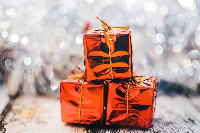 プレゼント3つ考えました